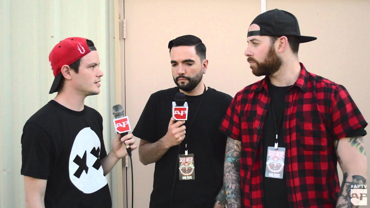 Interview a day to remember at self help 2016 youtube voltagebd Choice Image