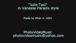 Vanessa Paradis Julie Taxi karaoke