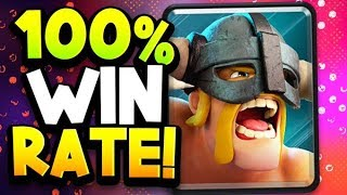 ELITE BARBARIANS DECK HAS A 100% WIN RATE in CRL | The WORLD IS ENDING!