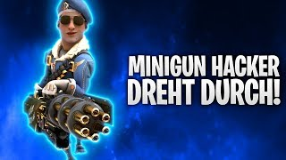 MINIGUN HACKER DREHT DURCH! 🤯 | Fortnite: Battle Royale