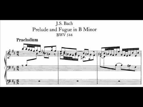 J.S. Bach - BWV 544 - Praeludium h-moll / b minor
