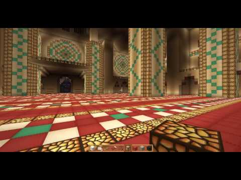 Minecraft Beautiful Sultan-Ahmet-Masjid