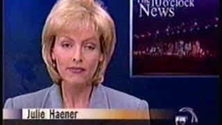 KTVU 10/30/1999 Julie Haener 10pm Newscast - San Francisco Bay Area 90s