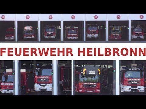 Feuerwehr Heilbronn 2018 Feuerwehrfahrzeuge Ausrückbereit