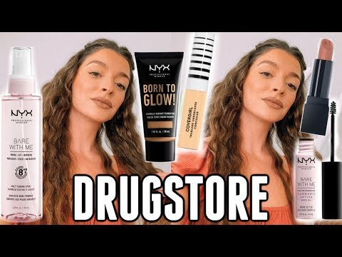 TESTING NEW MAKEUP AT THE DRUGSTORE ... Blown Away!😱🔥 thumbnail