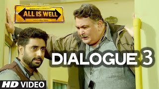 All Is Well Dialogue - 'Tu Apni Life Ko, Meri Life Se Kyun Jodta Hai? ' | T-Series