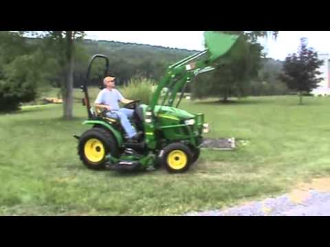 2012 john deere 2320 hst compact tractor 4x4 h130 loader. Black Bedroom Furniture Sets. Home Design Ideas