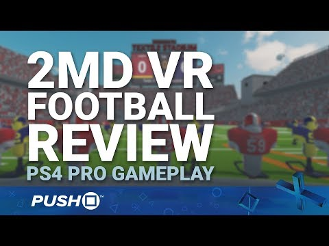 2MD VR Football Review: Virtual Reality American Football | PSVR | PS4 Pro Gameplay Footage
