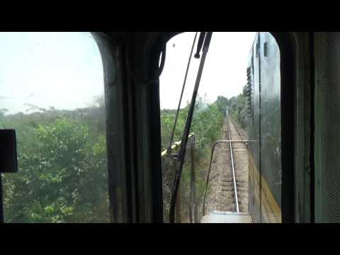 Train Driver's view: railroad in Serbia from Pancevo Varos to Pancevo Refinery - SERBIAN RAILWAYS