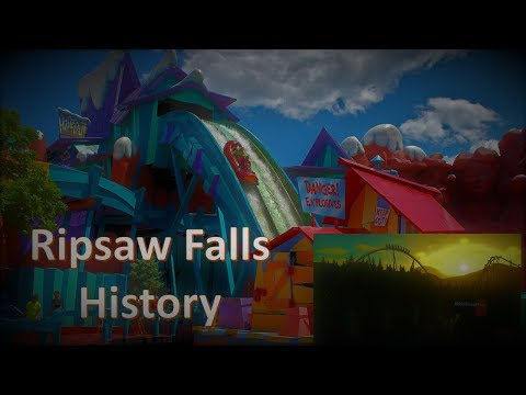 History of Dudley Do Right Ripsaw Falls