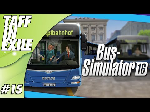 Bus Simulator 16 - Designing the Moat Route for the Legends