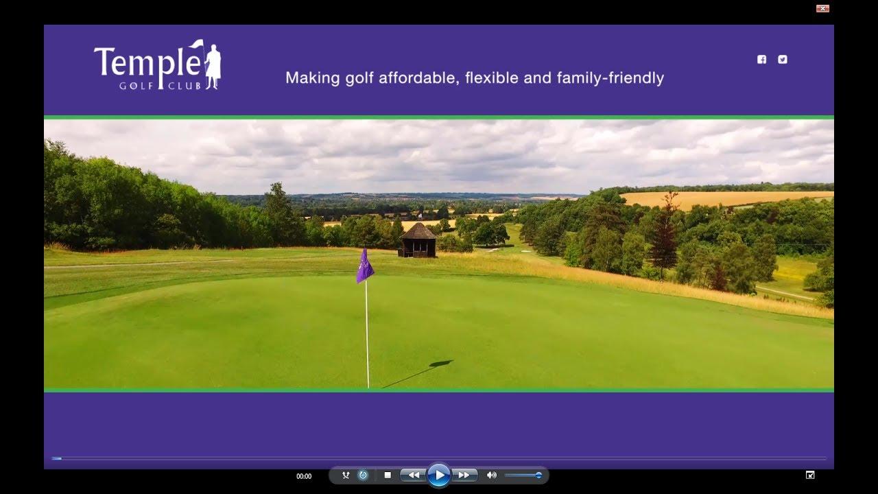 7b07cc28ca4d Temple Golf Club Promo Film - YouTube