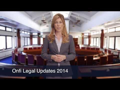 Onfi Legal Updates 2014