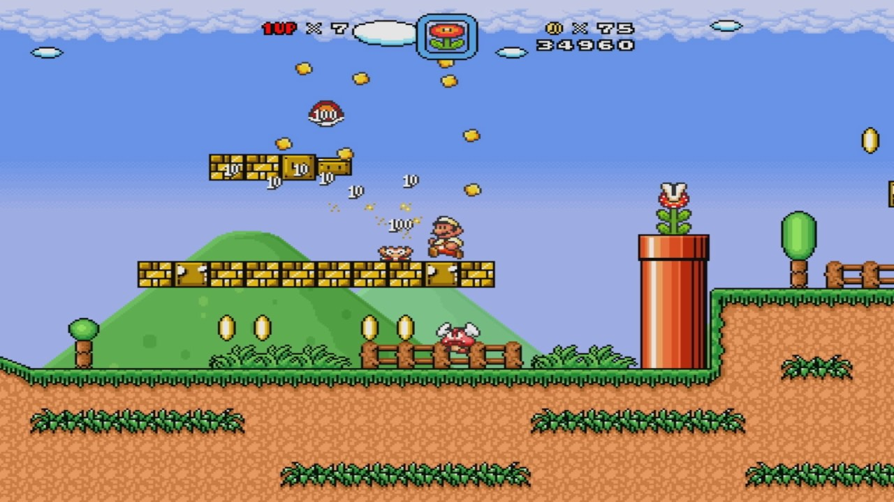 Super Mario Bros  X (SMBX) - M&L's Delightful Adventure {World 1 Grass} by  antonioflowers056