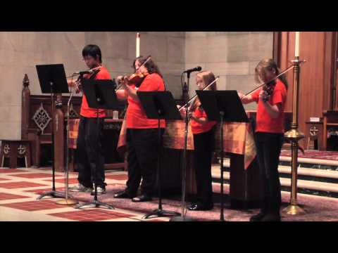 The Honey Creek Youth Chamber Orchestra - Spooky Organ Concert - Irvington Halloween Festival