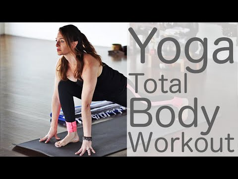 33 Minute Yoga Total Body Workout with Fightmaster Yoga