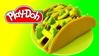 How to make Mexican Taco out of Play Doh
