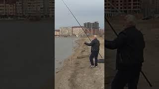 Рыбалка на озере ак гель(2)