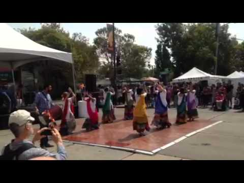Dhol Rhythms At Laurel Street Fair Oakland