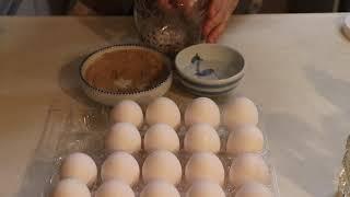 小芳/腌咸蛋用这种方法鸡蛋做的盐蛋个个出油,超好吃。