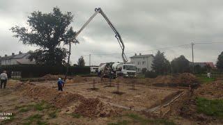 Ławy fundamentowe zalane-Budowa domu*12