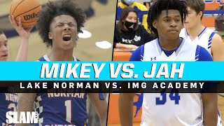 Mikey Williams vs. Jahzare Jackson & IMG! Mikey TAKES OVER 2nd Half!