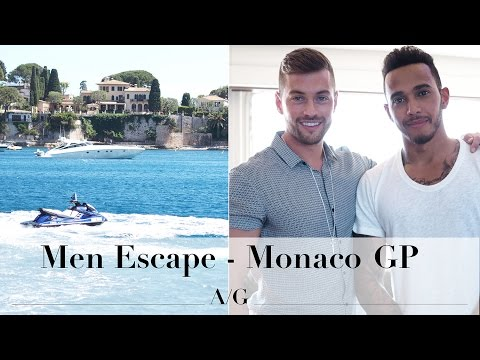 Monaco GP With L'oreal & Lewis Hamilton Interview | Ali Gordon