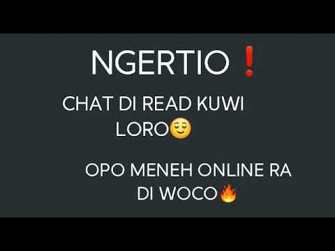 Chat Di Read Kuwi Loro