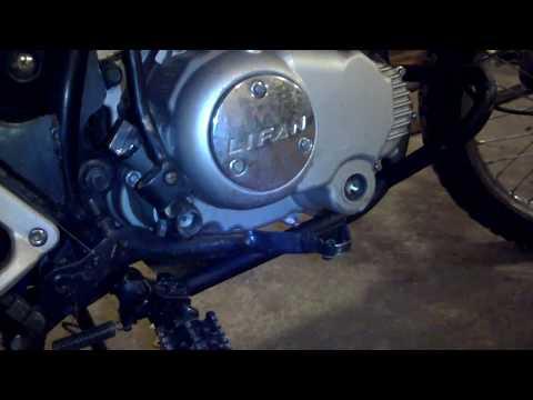 Lifan LF200 GY 5 устранение недостатков и ремонт серия 3 ведущая звезда и рама