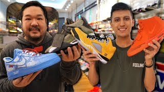 The Most Expensive Sneaker Collection IN THE WORLD! Big Boy Cheng!