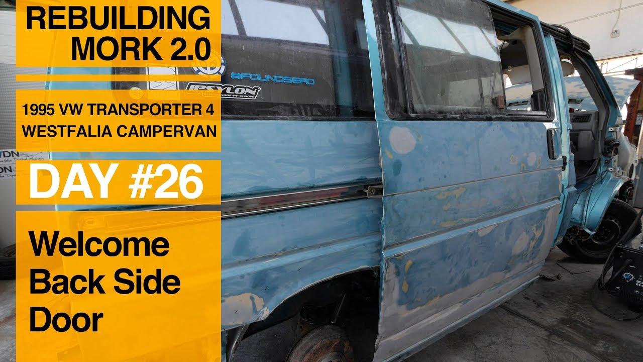 4d265b5dc0 Fixing the Side Door on Our VW Van - YouTube