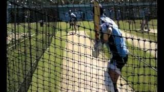 Mitchell Starc & Pat Cummins bowl in the nets