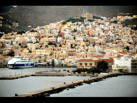 Greek Documentary about Loukoumi (delight) and island of Syros, Greece, Aegean Sea