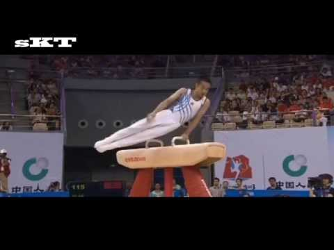 Xiao Qin 2013 big comeback at Chinese Nationals (Gold 15.800)