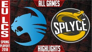 Video ROC vs SPY Playoffs Highlights ALL GAMES | EU LCS Quarterfinal Spring 2018 | Roccat vs Splyce download MP3, 3GP, MP4, WEBM, AVI, FLV Juni 2018