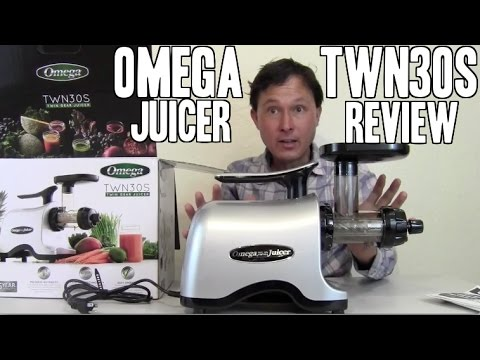Omega TWN30S Cold Press Twin Gear Juicer Review