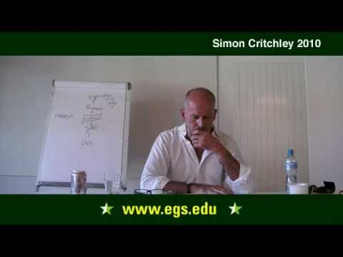 Simon Critchley. Happiness and the Ethics of Psychoanalysis. 2010