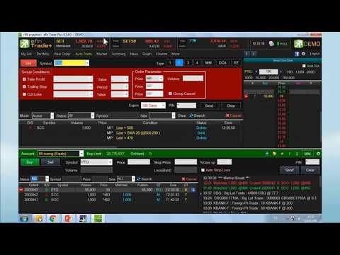 eFintrade+  Auto Trade 5/7 :  Money Management (MM)