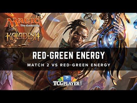 [MTG] Red-Green Energy | Match 2 VS Red-Green Energy