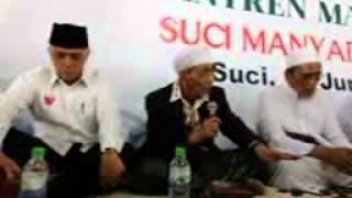 KH Maimoen Zubair ditelfon Sayyid Ahmad & Sayyid Abbas dukung Prabowo_1