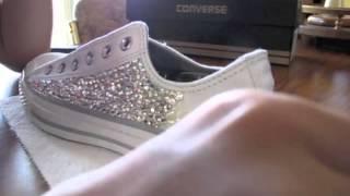 Swarovski Converse! - YouTube