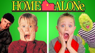 Download Home Alone! Full Movie Recreated by Kids Fun TV (Part 2)