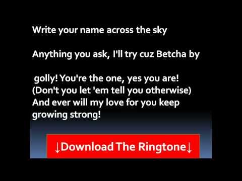 Stylistics - Betcha By Golly, Wow Lyrics