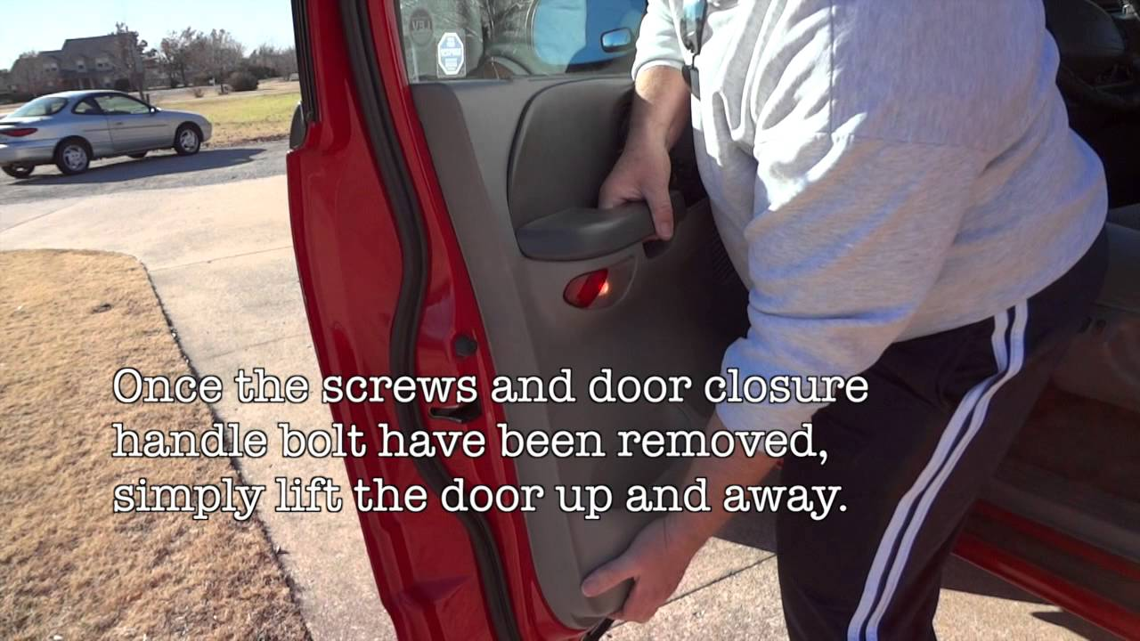 Remove 2002 F150 Door Panels Youtube