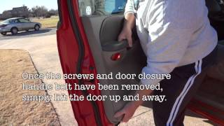 Remove 2002 F150 Door Panels