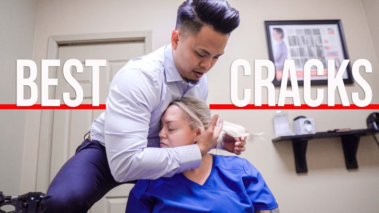 The *BEST* ASMR First Chiropractic Adjustment *COMPILATION