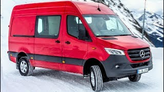 2019 Mercedes Sprinter 319 CDI 4x4 - Large Van Which Defies Even The Most Adverse Driving Conditions
