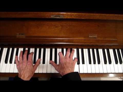 """Soul Jazz, """"Moanin"""", (by Bobby Timmons), Piano Tutorial"""