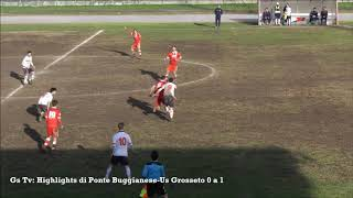Eccellenza Girone A Ponte Buggianese-Grosseto 0-1 (GS TV)