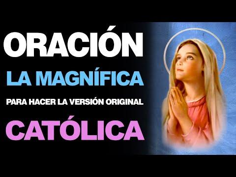 🙏 Oración de la Magnífica CATÓLICA COMPLETA – VERSIÓN ORIGINAL 🙇️